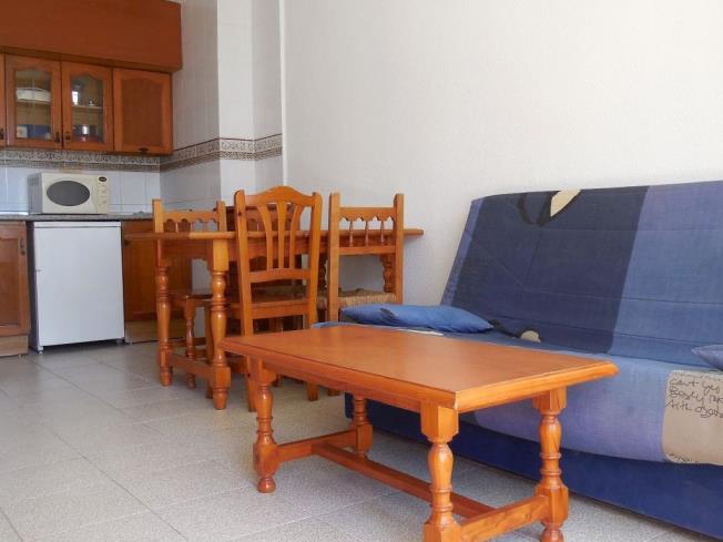 Salón comedor Apartamentos Habitat--Playa Romana 3000 Alcoceber
