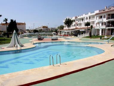 Piscina Apartamentos Habitat--Playa Romana 3000 Alcoceber