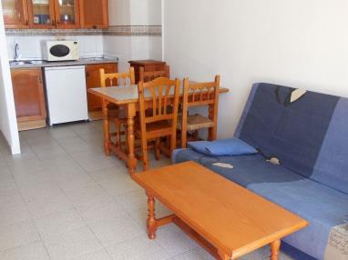 Salón comedor España Costa Azahar Alcoceber Apartamentos Habitat--Playa Romana 3000