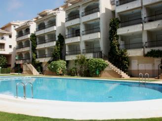 Fachada Invierno España Costa Azahar Alcoceber Apartamentos Playamar 3000