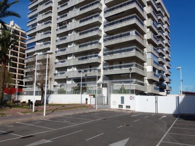 Fachada Verano Apartamentos Colomeras 3000 Oropesa del mar