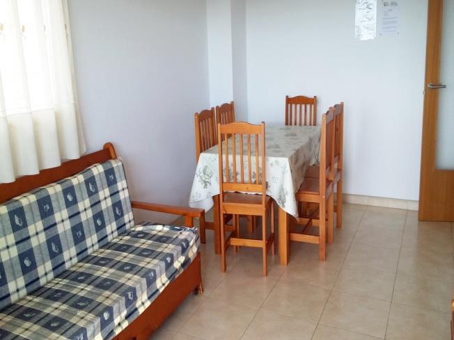 Salón comedor Apartamentos Colomeras 3000 Oropesa del mar