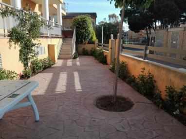 Fachada Verano España Costa Azahar Oropesa del mar Apartamentos Los Almendros 3000