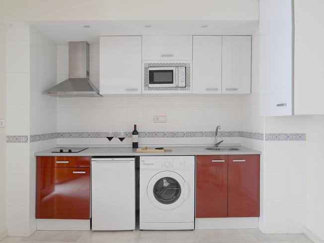 Cocina Apartamentos Paloma 3000 Granada