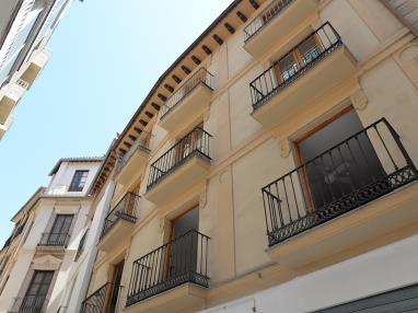 Fachada Verano España Andalucía Granada Apartamentos Paloma 3000