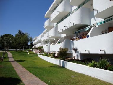 Fachada Verano España Costa Azahar Alcoceber Apartamentos Las Fuentes 3000