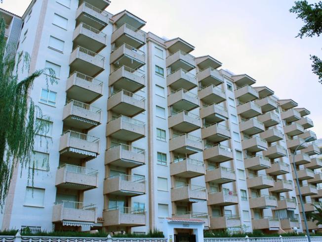 Fachada Verano Apartamentos Jardines de Gandia I y II 3000 Gandia