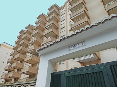 Fachada Verano España Costa de Valencia Gandia Apartamentos Jardines de Gandia I y II 3000