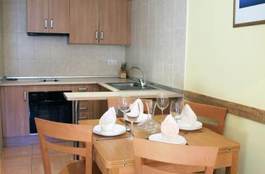 Cocina Andorra Estación Vallnord Arans Apartamentos Arans 3000