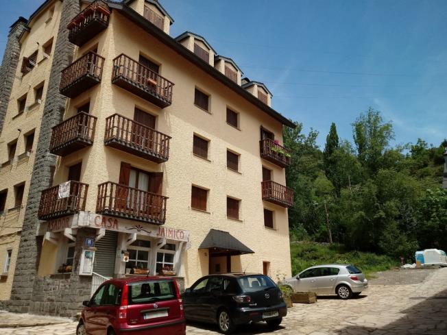 Fachada Verano Apartamentos Sallent de Gállego 3000 Sallent de Gallego
