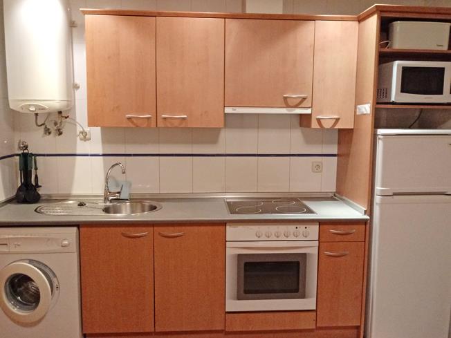 Cocina Apartamentos Canfranc 3000 Canfranc