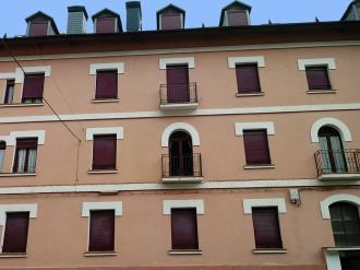 Fachada Verano España Pirineo Aragonés Canfranc Apartamentos Canfranc 3000