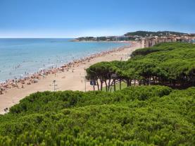 Platja de la Pineda Costa Dorada España