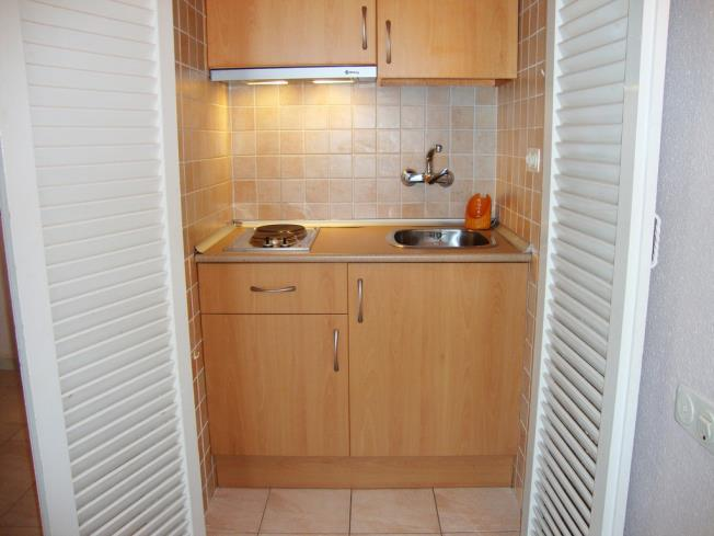 Kitchen Appartements Eurhostal 3000 ALCOSSEBRE