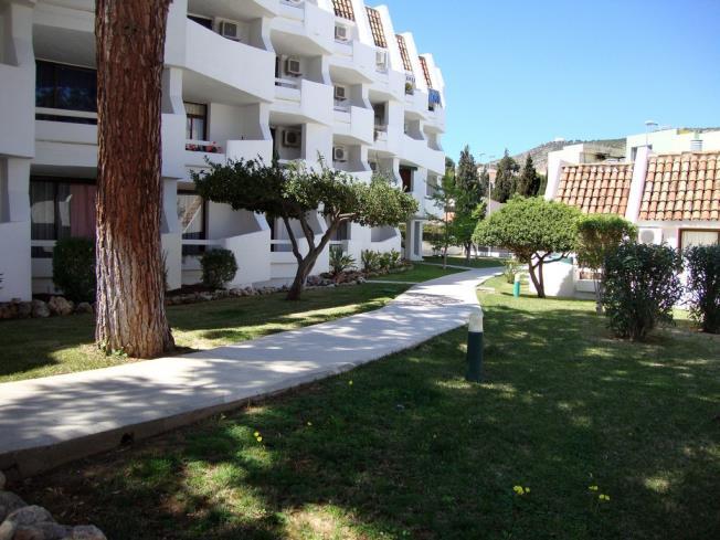 Jardín Apartamentos Eurhostal 3000 Alcoceber