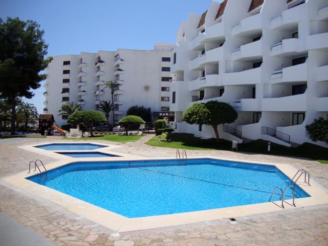 Piscina Apartamentos Eurhostal 3000 Alcoceber