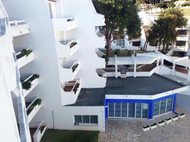 Fachada Verano España Costa Azahar Alcoceber Apartamentos Eurhostal 3000