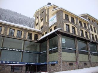 Façade Winte Andorre Grandvalira SOLDEU Appartements Glac Soldeu 3000