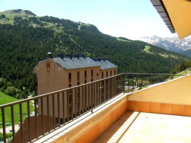 Terraza Andorra Estación Grandvalira Soldeu Apartamentos Glaç Soldeu 3000