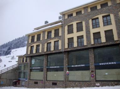 Fachada Invierno Andorra Estación Grandvalira Soldeu Apartamentos Glaç Soldeu 3000