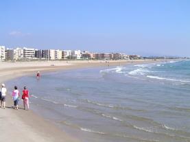 Canet d'en berenguer Costa de Valencia España