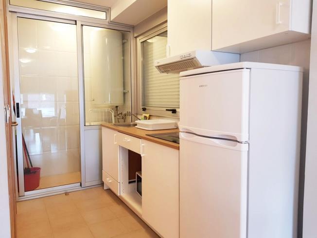 Cocina Apartamentos Pobra do Caramiñal 3000 Pobra do Caramiñal, a