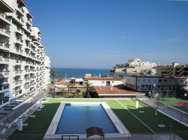 Piscina España Costa Azahar Peñiscola Apartamentos Beach Peñíscola 3000