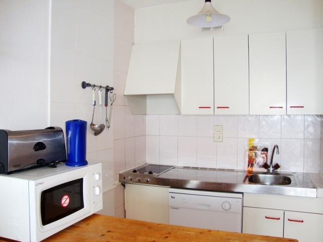 Cocina Apartamentos Paradis Blanc 3000 Pas de la Casa