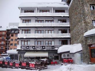 Fachada Invierno Andorra Estación Grandvalira Pas de la Casa Apartamentos Paradis Blanc 3000