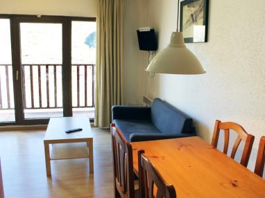 Salón comedor Andorra Estación Grandvalira Pas de la Casa Apartamentos Paradis Blanc 3000