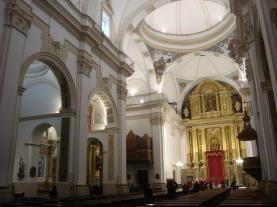 Interior Iglesia San Bartolomé Benicarlo Costa Azahar España