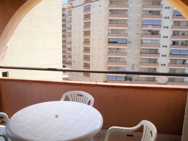 Terraza Apartamentos Concha Playa 3000 Oropesa del mar