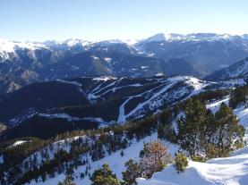 Paisaje Vallnord  Vallnord Andorra