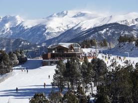 Vistas de Vallnord  Andorra Estación Vallnord