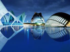 Oceanogràphic & Ciudad de las Artes y Ciencia  Valencia Coast Spain