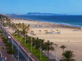 Playa de Gandía  Valencia Coast Spain