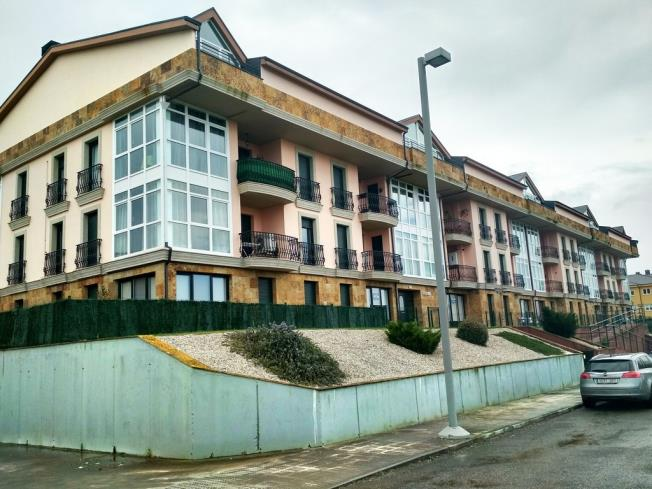 Fachada Invierno Apartamentos Playa de las Catedrales 3000 Barreiros