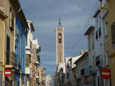 Casco antiguo Bellreguard España Costa de Valencia Bellreguard