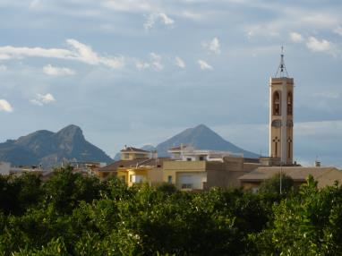 Torre Sant Miguel Bellreguard España Costa de Valencia Bellreguard