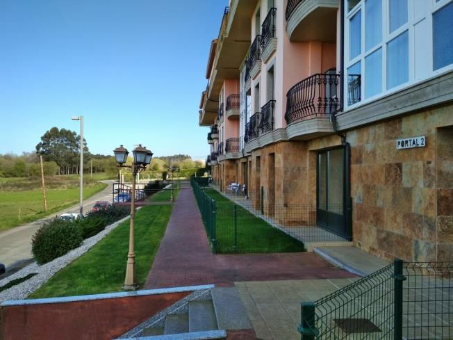 Fachada Invierno Apartamentos Barreiros 3000 Barreiros