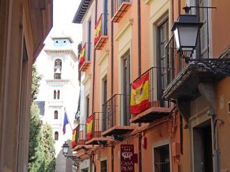 Façade Winte Espagne Sierra Nevada GRANADA Appartements Valentina Deluxe 3000