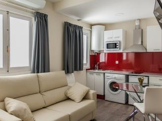 Salón comedor España Andalucía Granada Apartamentos Valentina Deluxe 3000