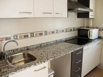 Kitchen Espagne Costa del Azahar ALCOSSEBRE Appartements Alcoceber Centro 3000