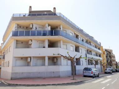 Fachada Invierno España Costa Azahar Alcoceber Apartamentos Alcoceber Centro 3000