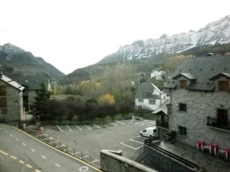 Façade Winte Espagne Pyrenées Aragonaises TRAMACASTILLA DE TENA Appartements Tramacastilla 3000