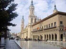 Plaza del Pilar zgz Zaragoza Zaragoza España