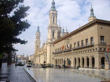 Plaza del Pilar zgz Espagne Saragosse SARAGOSSE