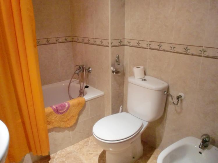 Baño Apartamentos Galicia 3000 Oropesa del mar