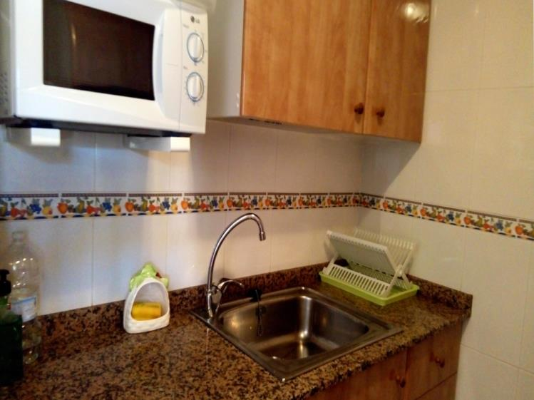 Cocina Apartamentos Galicia 3000 Oropesa del mar
