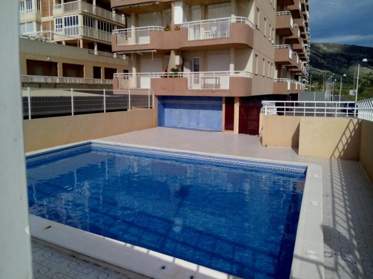 Piscina Apartamentos Galicia 3000 Oropesa del mar